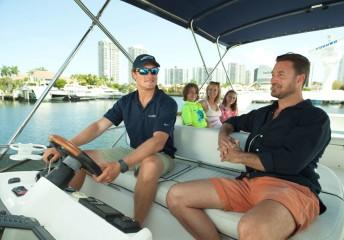 Boat rental captain