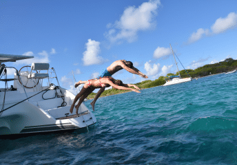 swimming off a yacht 2