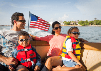 4th of july boat rentals